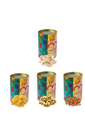 Diwali Quality Unique Dry Fruits with Tin Box